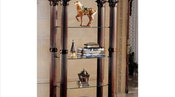 Display Trophies and Treasures on Creative Mantels, Shelves, and Pediments
