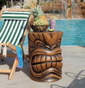 The Kanaloa (Teeth) Grand Tiki Sculptural Table, Item#DB383038