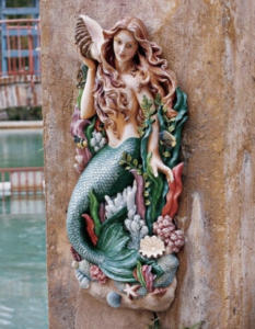 Melody's Cove Mermaid Wall Sculpture, Item#NG33502