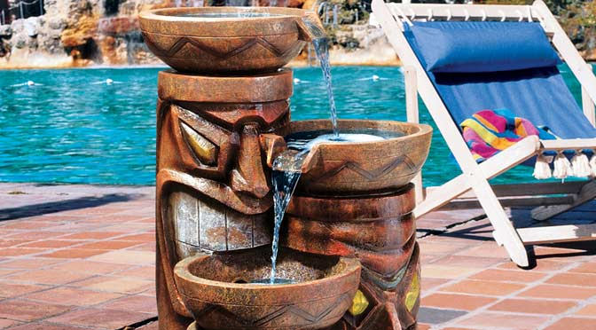 tiki-fountain