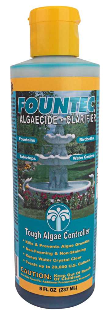 Fountec Algaecide and Water Clarifier (EC50008)