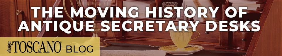 The Moving History of Antique Secretary Desks