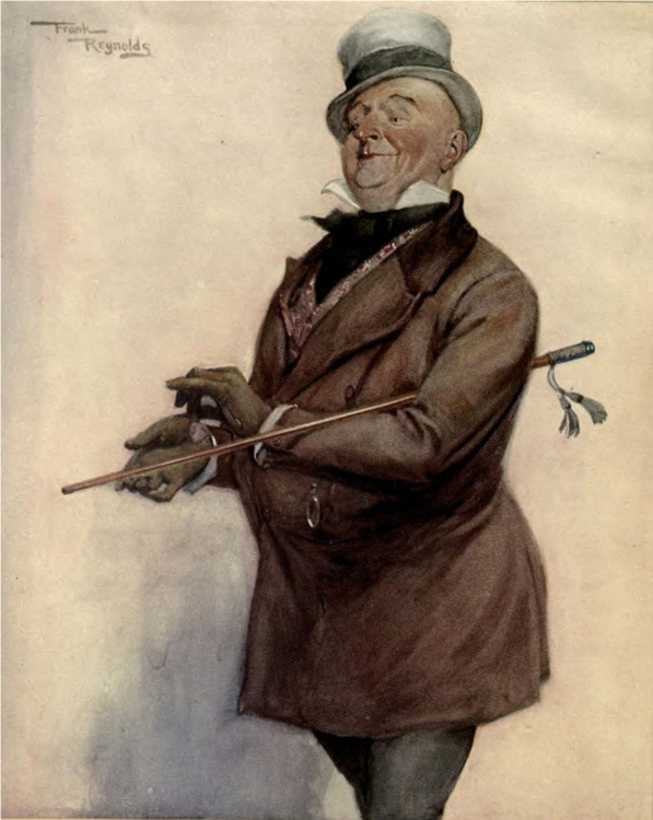 Wilkins Micawber   By Frank Reynolds (1876-1853)