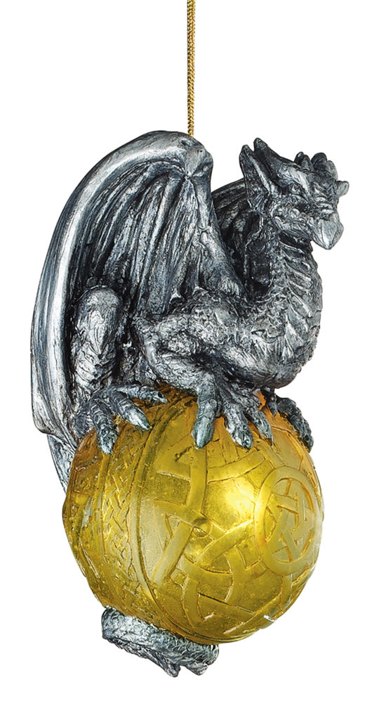 Protector of the Gothic Portal Dragon Ornament (CL5541)