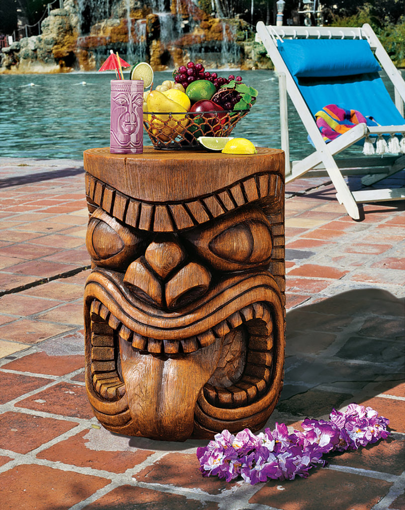 The Lono (Tongue) Grand Tiki Sculptural Table