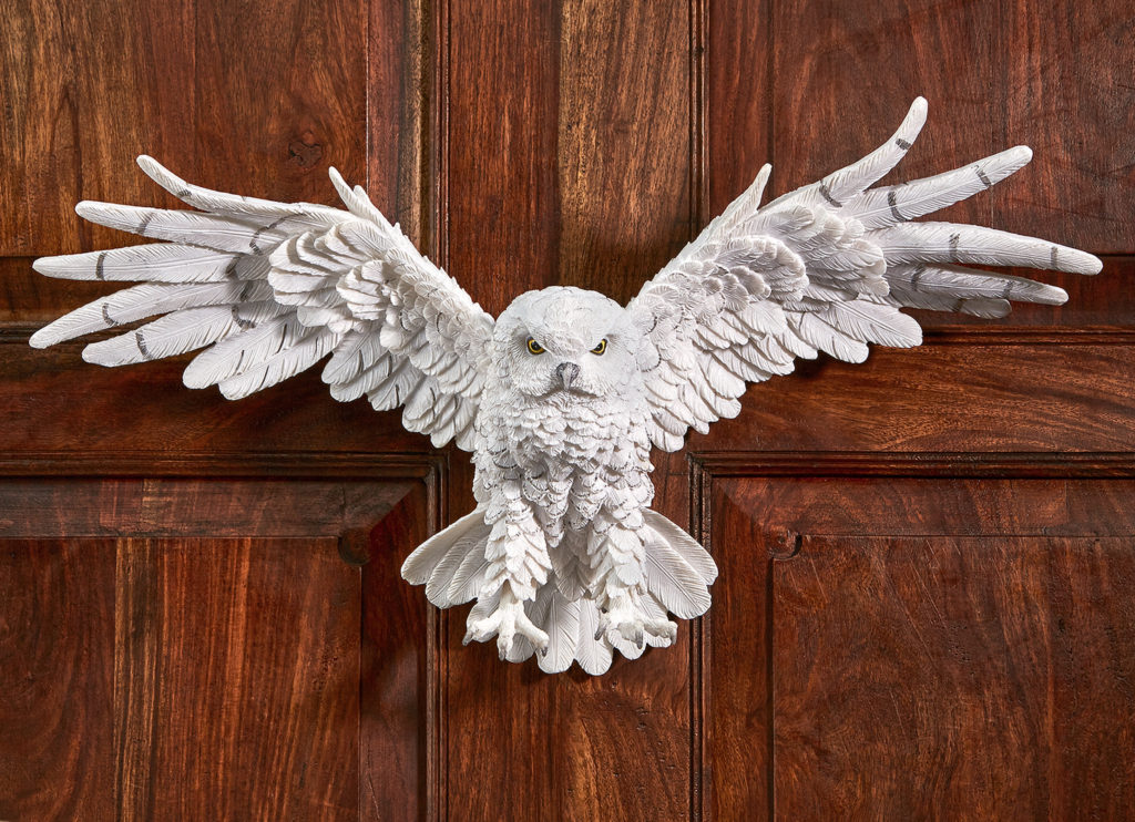 Mystical Spirit Owl Wall Sculpture