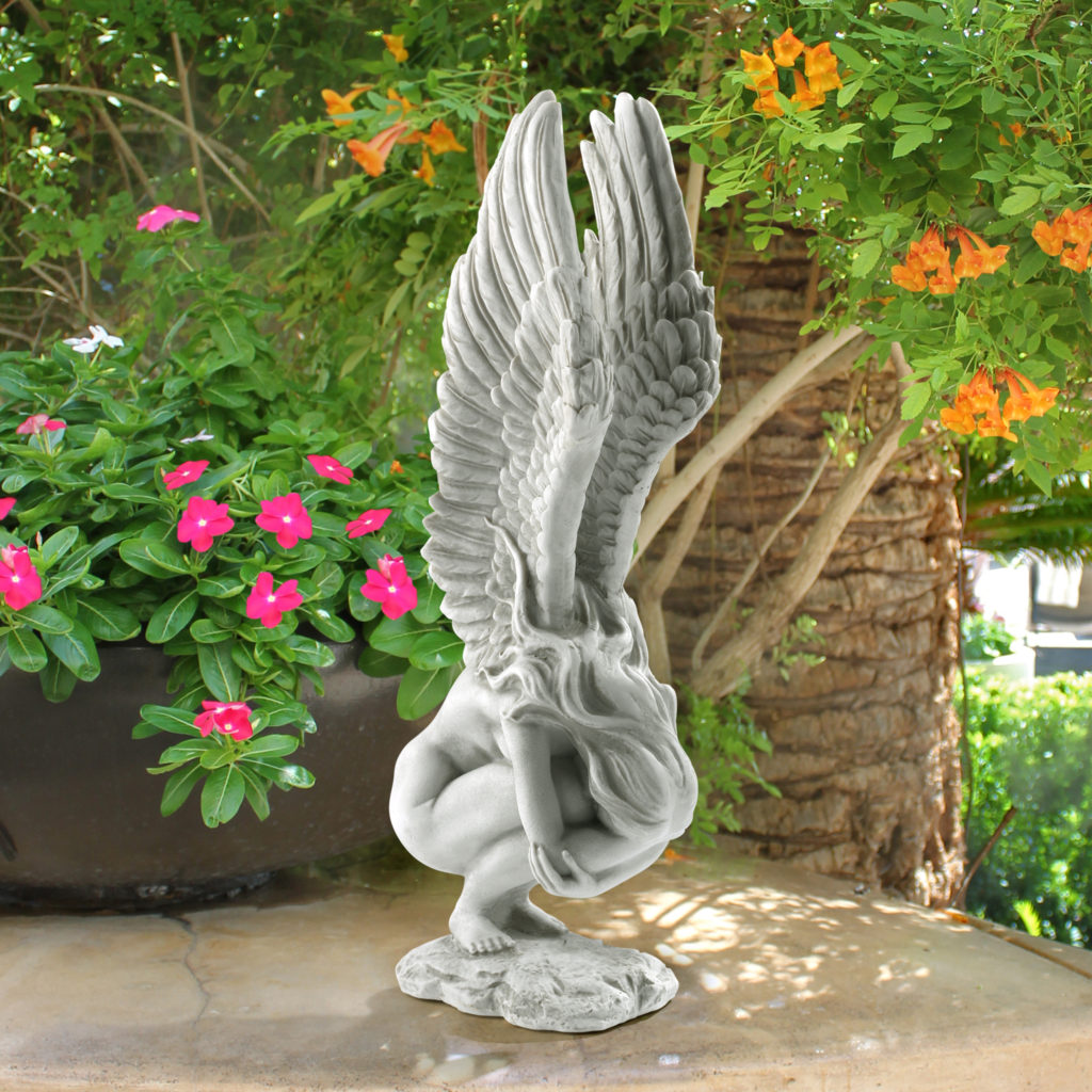 Remembrance and Redemption Angel Sculpture