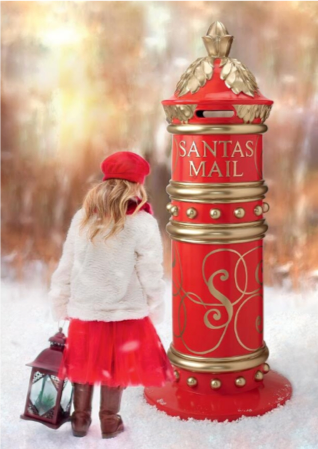 Santa's North Pole Holiday Mailbox Item#NE150239