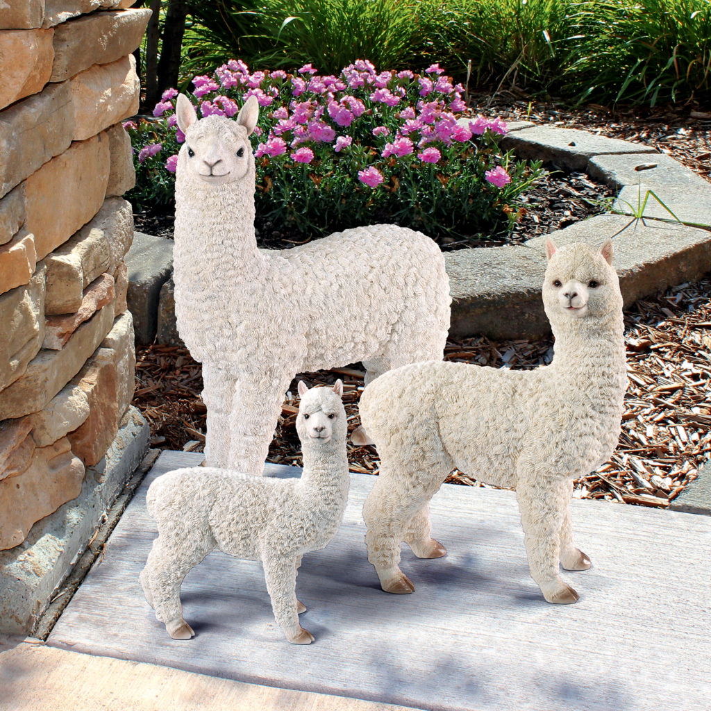 The Alpacalypse of Alpaca Garden Statues