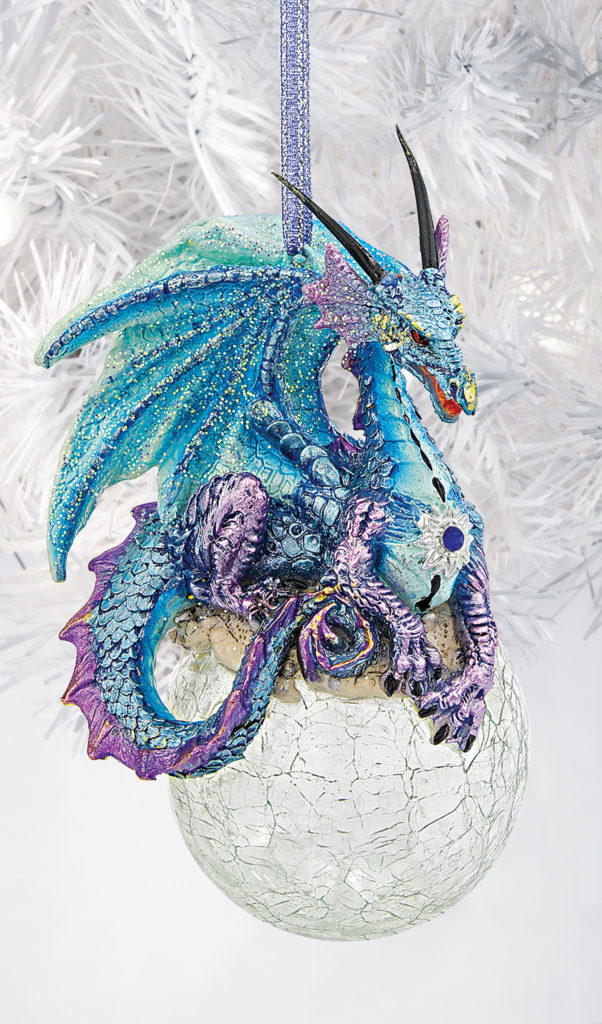 Frost the Gothic Dragon Ornament (QS292913)