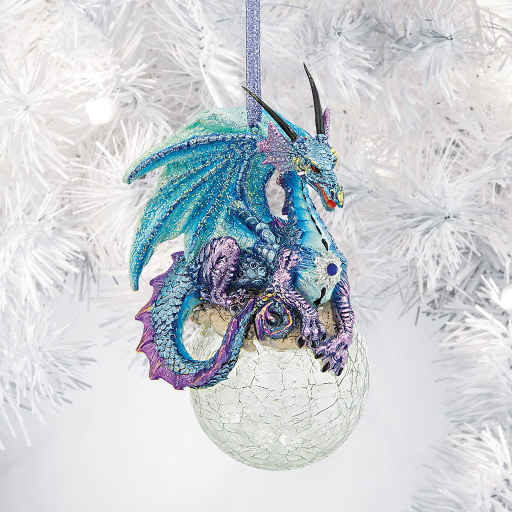 Frost, the Gothic Dragon Holiday Ornament (QS292913)