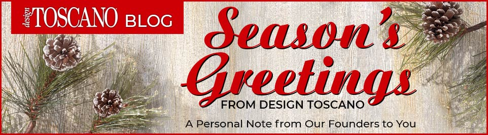 Season's Greetings from Design Toscano